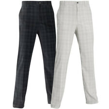 52% OFF RRP Mizuno Golf Mens DryLite Check Trousers Performance Stretch Pant