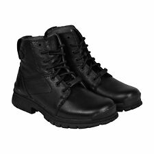 Harley-Davidson Gage Mens Black Leather Casual Dress Lace Up Boots Shoes