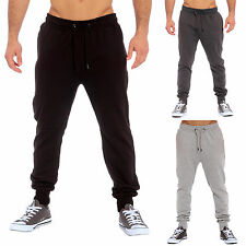 New Mens Casual Designer Skinny Slim Fit Joggers Bottoms Trouser Pants Stretch