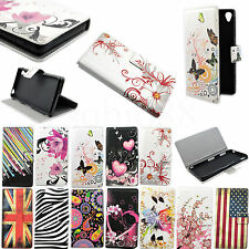 Hot Flip Leather Phone Skin Wallet Stand Cover Soft Back Case For Various Phones