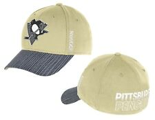 Pittsburgh Penguins Beige Travel And Training Center Ice Collection Hat