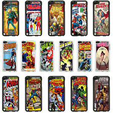DC Marvel Comic Book Case Cover for Apple iPod Touch 4 5 4th 5th Generation - 09