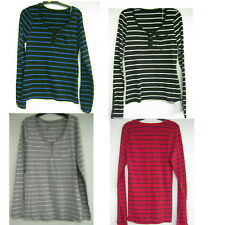 SALE Girls Unbranded stripe long sleeved tops