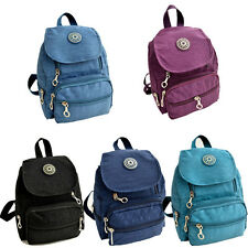 Nylon leisure Backpack Rucksack School Satchel Hiking Bag Bookbag Trendy