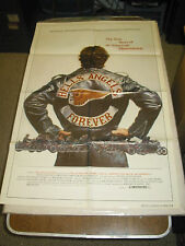 HELLS ANGELS FOREVER /ORIG.  U.S. ONE SHEET MOVIE POSTER (DOCUMENTARY)