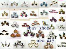 10pcs mixed Floating living locket charm for your floating memory locket #6
