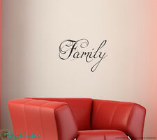 Family Vinyl Wall Lettering Quotes Vinyl Words Art Decals Stickers 1349