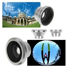 3in1 Macro Lens Camera + Fish eye + Wide Angle Camera Kit For Samsung For iPhone