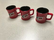 NHL Carolina Hurricanes Hockey Team Sculpted Mini Mug Shot Glass