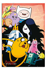Adventure Time TV Show Collage Poster  New - Maxi Size 36 x 24 Inch