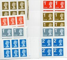 NEW Royal Mail Stamps prima seconda 1st / 2nd Classe o Grande lettera-SPEDIZIONE GRATUITA