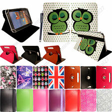 """Universal PU Leather Flip Case Cover Fits For Various 10.1"""" Tablets +Stylus"""