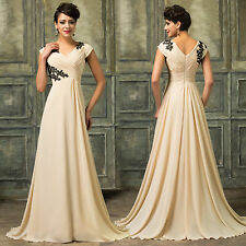 CHEAP SALE Long Maxi Bridesmaid Formal Party Evening Gown Prom Dresses Plus Size