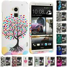 Design Hard Snap-On Rubberized Case Cover Skin Accessory for HTC One Max T6
