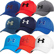 2015 Under Armour Blitzing II Hat Stretch Fit Mens Performance Golf Cap
