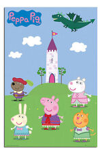 Peppa Pig Fairytale Castle Poster New - Maxi Size 36 x 24 Inch
