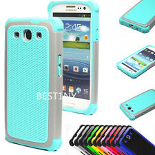 Hybrid Shockproof Hard Impact Case Cover For Samsung Galaxy S3 S III i9300