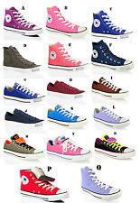UNISEX CONVERSE ALL STAR CT HI LO TOP CANVAS LEATHER TRAINERS SHOES SIZE UK 5