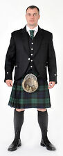 CHEIFTAIN BLACK WATCH 8 YARD DELUXE KILT £39.99 ON SALE ALL SIZES NEW BRAND NEW