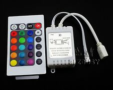 Sale DC 12V 6A 24Key IR Remote Controller Control For RGB LED Strip 5050 (86009)