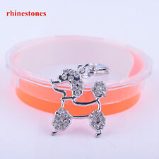 Fashion Jewelry Rhinestone Jewelry Pendant Collar Charm Pet Tag Dog Accessories