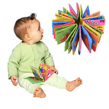 Adorable Infant Baby Child Intelligence Development Cloth Book Cognize Book Toy