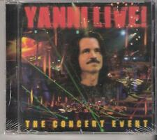 YANNI LIVE!  THE CONCERT EVENT!! NEW!!!!!