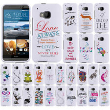 For HTC One M9 Act Like Lady Think Like A Boss Snap On HARD Case Cover Accessory