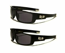 New Men's Locs Hardcore Shades Gangster Style Motorcycle Biker Sport Sunglasses.