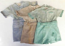 Vintage childrens AERTEX Play suit Shirt Shorts 1930s Shop soiled Baby Toddler