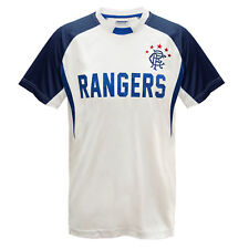 Rangers Football Club Official Soccer Gift Boys Poly Training Kit T-Shirt