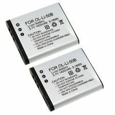 2x Li-50B Li-on Battery For Olympus mju Touch 6020 8010 9000 XZ-1 XZ-10
