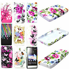Soft Rubber Silicone Shell Phone Accessories Cover Case For Sony Xperia P LT22i