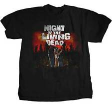 NIGHT OF THE LIVING DEAD - GraveYard - T SHIRT S-M-L-XL New Official