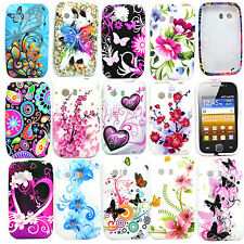 Soft Rubber Cell Phone Silicone Gel Tpu Cover Case For  Samsung Galaxy Y S5360