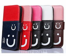 Simple Magnetic Flip Leather Case Cover Skin For Apple iPhone 4G/5G 5S/6G 6 Plus