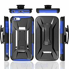 "SHOCKPROOF BELT CLIP POUCH CASE COVER HOLDER HOLSTER FOR IPhone 6 4.7""/Plus 5.5"