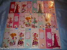 FEMALE BIRTHDAY CARD KEEPSAKE LOVELY WORDS VERSES FAMILY RELATIONS MUM WIFE AUNT