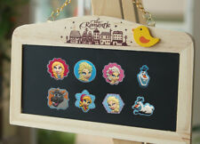 Lovely 4PCS Princess Elsa Olaf Fridge Refrigerator Magnets,Magnetic Stick Gifts