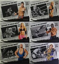 "WWE 2010 "" HISTORY OF "" Trading Card SINGLES HO / 25  topps"