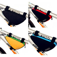 New Cycling Bike Bicycle Top Tube Front Frame Pannier Saddle Triangle Bag Pouch