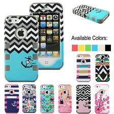 For Apple iPhone 4 4S Shockproof Dirt Dust Proof Hard Matte Rugged Cover Case