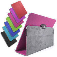 "Premium Universal Synthetic Leather Folio Case Stand for 9"" 9.7"" 10.1"" Tablets"