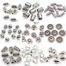 Wholesale Charms Silver Plated Loose Spacer Beads DIY Jewelry Making Findings