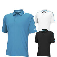 2014 Adidas ClimaChill Shoulder Print Golf Polo CLOSEOUT NEW