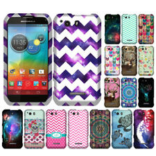 For Motorola Photon Q 4G LTE XT897 Chevron Snap On HARD Case Cover Accessory