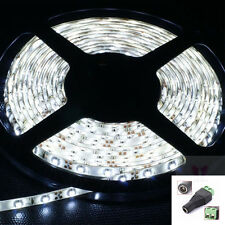 Waterproof 5M 500cm 300 LEDs 3528 SMD Flexible LED Strip Light Lamp w/ DC Plug