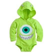 Disney Store Monsters inc Mike Eye Ball Baby Costume Outfit 0-3 9-12 Month NEW
