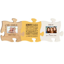 Personalized You make me smile Puzzle with 4x6 Photo Frame, Always believe in l
