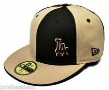 NEW ERA 59FIFTY FITTED CAP MLB LOS ANGELES DODGERS FLAWLESS HAT BROWN FITTED